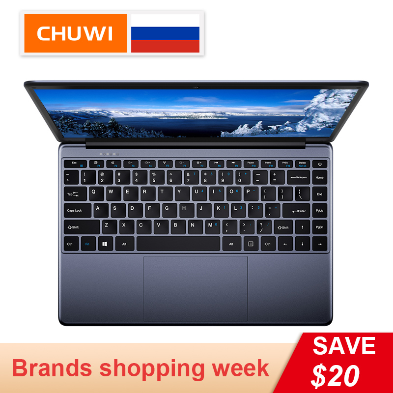 CHUWI Laptop-Borderless-Keyboard Laptop Windows Quad-Core Herobook Original Intel E8000