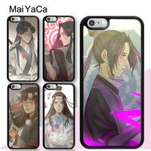 MaiYaCa Mo Dao Zu Shi Wei Wuxian Wei Ying Phone Case For iPhone XS Max X XR 11 Pro Max 6 6S 7 8 Plus 5S Rubber Back Cover(China)