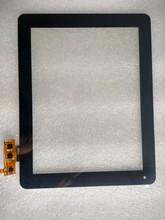 Tela de toque capacitiva FPCA09700900-000 digitador de vidro tela externa