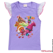 Trolls 3 Children's Clothing Fashion T Shirt Short Sleeve Christmas Shirt Jogger Jumper Cosplay Costumes Boys Girls Summer Tops