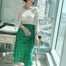 100% Silk Fashion Chic Women Skirt Silk Fishtail Skirt
