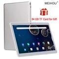 10 дюймовый планшет, Octa Core, 3 Гб/6 ГБ Оперативная память 32/64GB Встроенная память IPS HD 2.5D Стекло Экран глобальная версия GPS планшет 10,1 + бесплатные ...