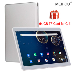 10 Inch Tablet Octa Core 3/6GB RAM 32/64GB ROM IPS HD 2.5D Glass Screen  Global Version GPS Tablet 10.1+Free Gifts