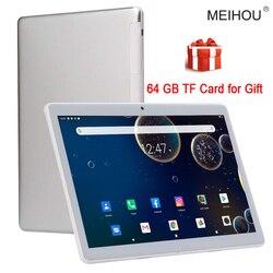 10 pouces tablette Octa Core 3/6GB RAM 32/64GB ROM IPS HD 2.5D verre écran Version mondiale GPS tablette 10.1 + cadeaux gratuits