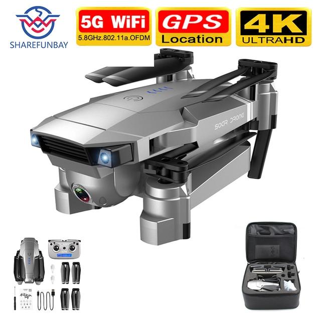 Drone sharefunbay sg901/sg907, drone, gps, hd, 4k, câmera 5g, wifi, fpv, quadcopter, voo, 20 minutos, gravação de vídeo drone ao vivo e câmera