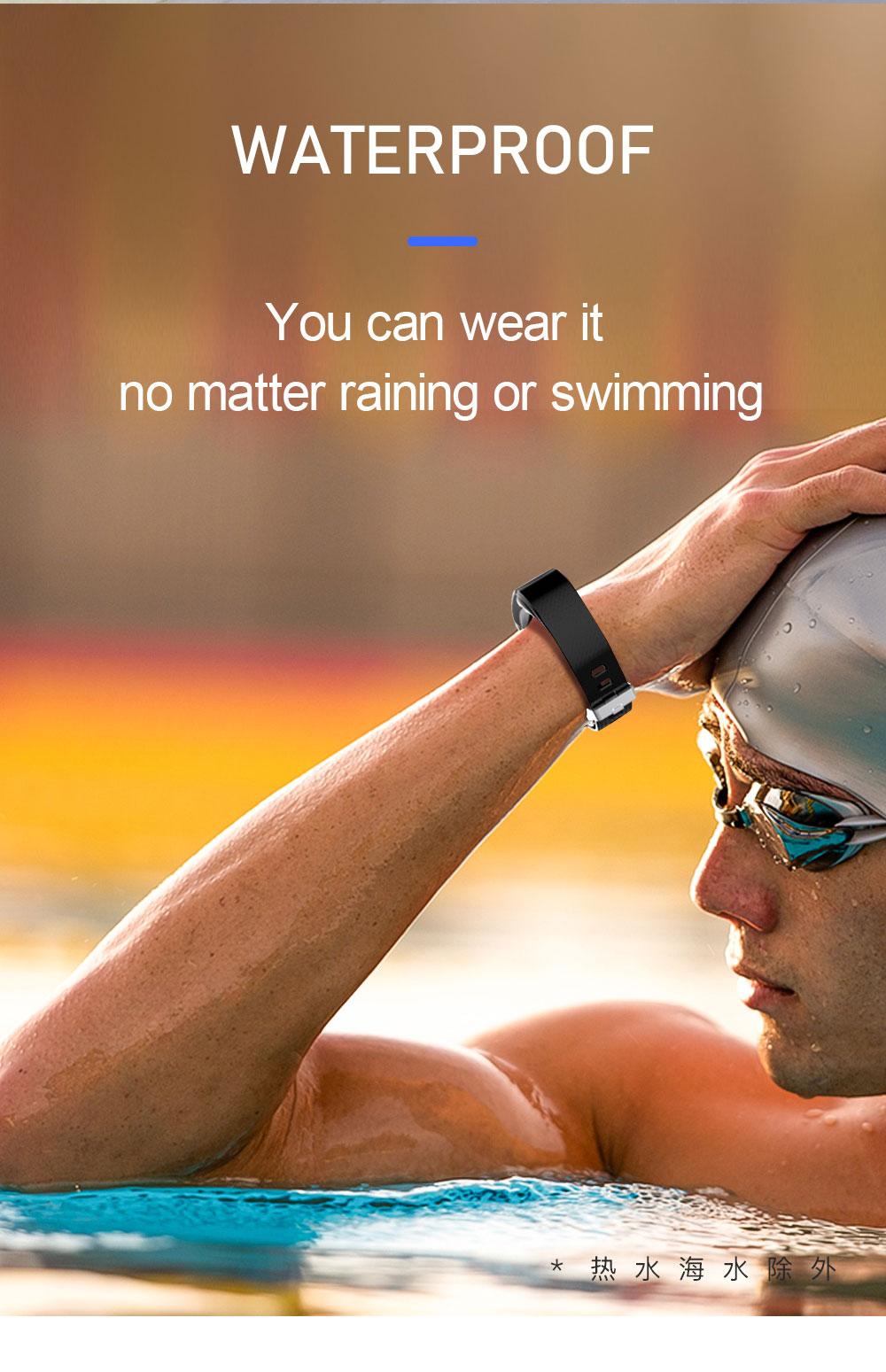 Hd99830fad1674d5cb6e8fa9665103ff4y Smart Fitness Bracelet Blood Pressure Measurement Fitness Tracker Waterproof Smart Band Watch Heart Rate Tracker For Women Men