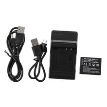 Battery +charger for Panasonic Lumix CGA-S007E DMC-TZ5 DMC-TZ4 DMC-TZ3 TZ2 UK цена в Москве и Питере