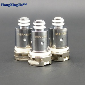 Image 2 - 10Pcs Vape Coil Voor Nord Pod Kit Keramische 1.4ohm Regelmatige 0.6ohm Mesh Vervanging Elektronische Sigaret Hoofd 3Ml Verstuiver cores