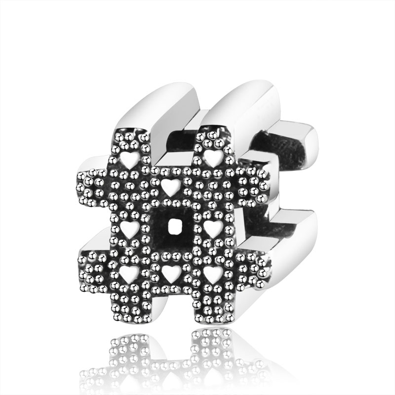 Подходит браслет Pandora Подвески из стерлингового серебра 925 пробы мальчик талисман для девушки Подвеска-бусы DIY ювелирных изделий дизайн Berloque - Цвет: PL01176