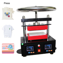 Manual Heating Press Machine Heat Transfer Machine Upper And Lower Plate Extraction Oil Rosin Press Machine CK220