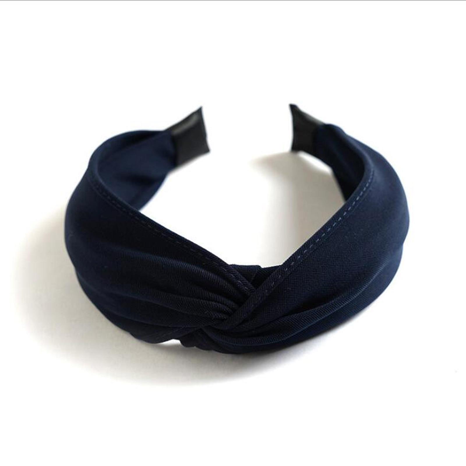 navy blue hairband