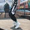 Streetwear Hip hop Joggers Pants Men Loose Harem Pants Ankle Length Trousers Sport Casual Sweatpants White Techwear 9