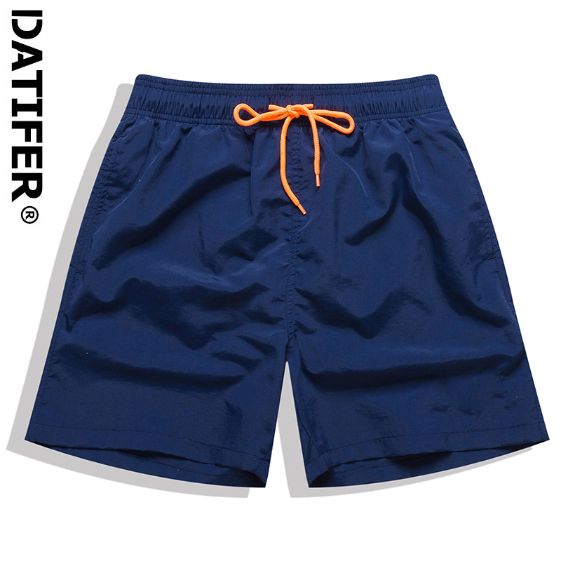 Мужские пляжные шорты DATIFER для плавания, короткие шорты для серфинга, спортивные мужские шорты для доски, бермуды, одежда для плавания