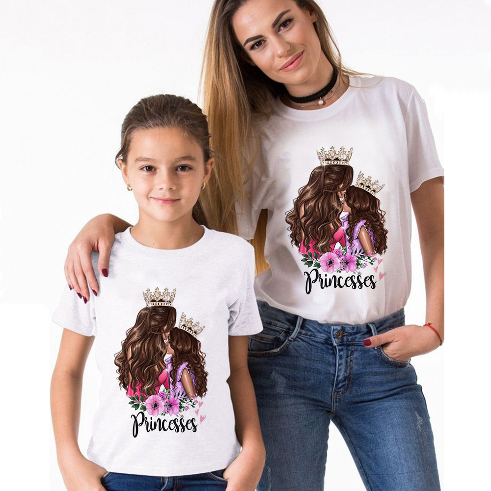 Princess Mommy and Me Matching T-Shirt