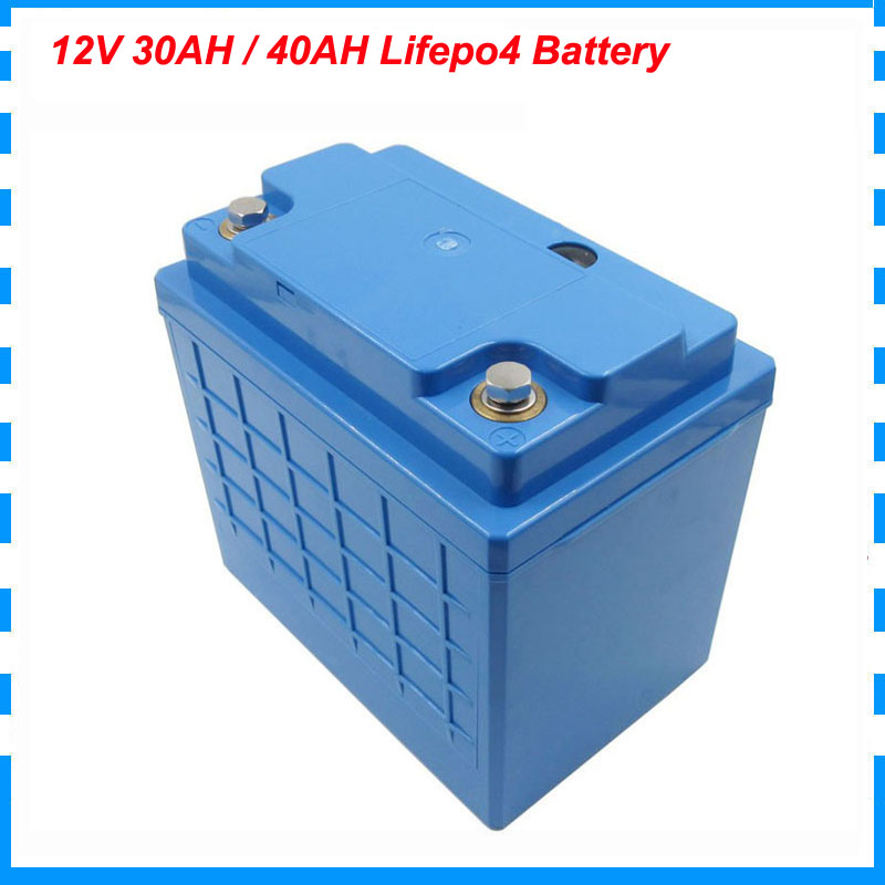 250W <font><b>12V</b></font> 4S <font><b>lifepo4</b></font> <font><b>30AH</b></font> 40AH <font><b>battery</b></font> <font><b>pack</b></font> 12 Volt 40000MAH <font><b>lifepo4</b></font> e bike <font><b>battery</b></font> with 30A BMS Free customs fee image