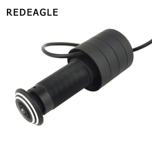 Ahd-Camera Peephole Door-Hole REDEAGLE Color Wired CCTV Wide-Angle Body 1080P Metal Fish-Eye