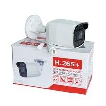 Hik original versão internacional 8 mp (4 k) DS 2CD2085G1 I rede bala câmera ip alimentado por escuro com slot para cartão sd