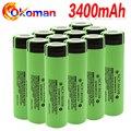 2021 100% Новый оригинальный 18650 аккумулятор NCR18650B 3,7 в 3400 мАч 18650 литиевый перезаряжаемый аккумулятор для фонариков
