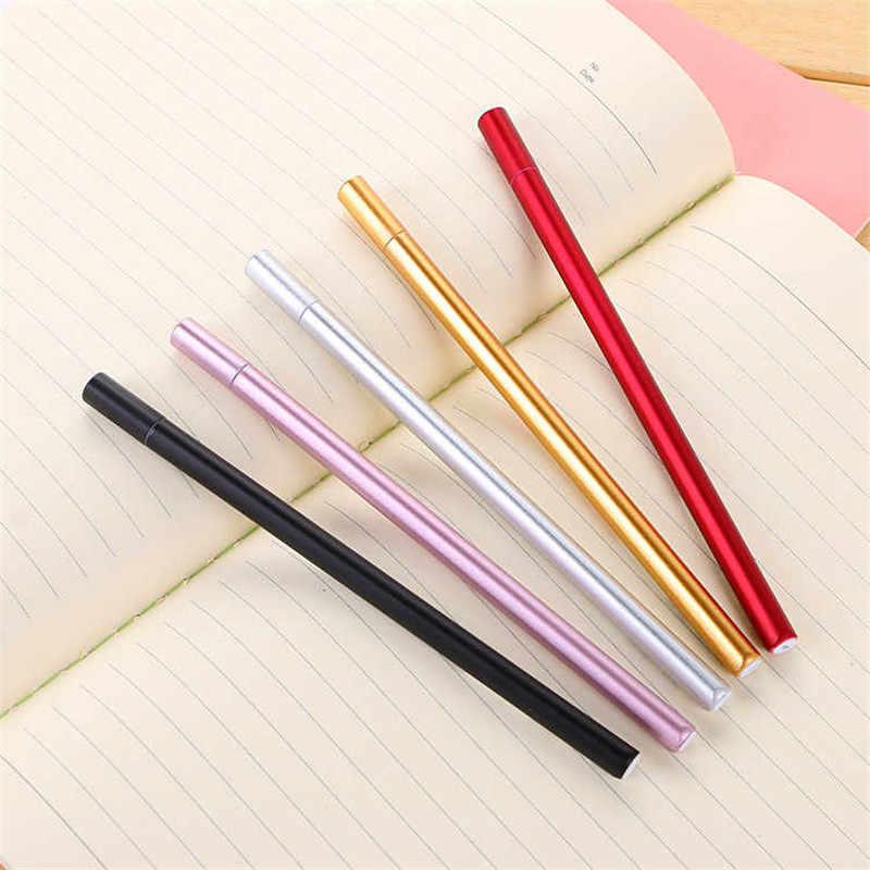 1 قطعة جديد الصبار هلام حبر القلم أسود جميل الإبداعية Kawaii عالية الجودة مدرسة مكتب التموين هدية القرطاسية Escolar