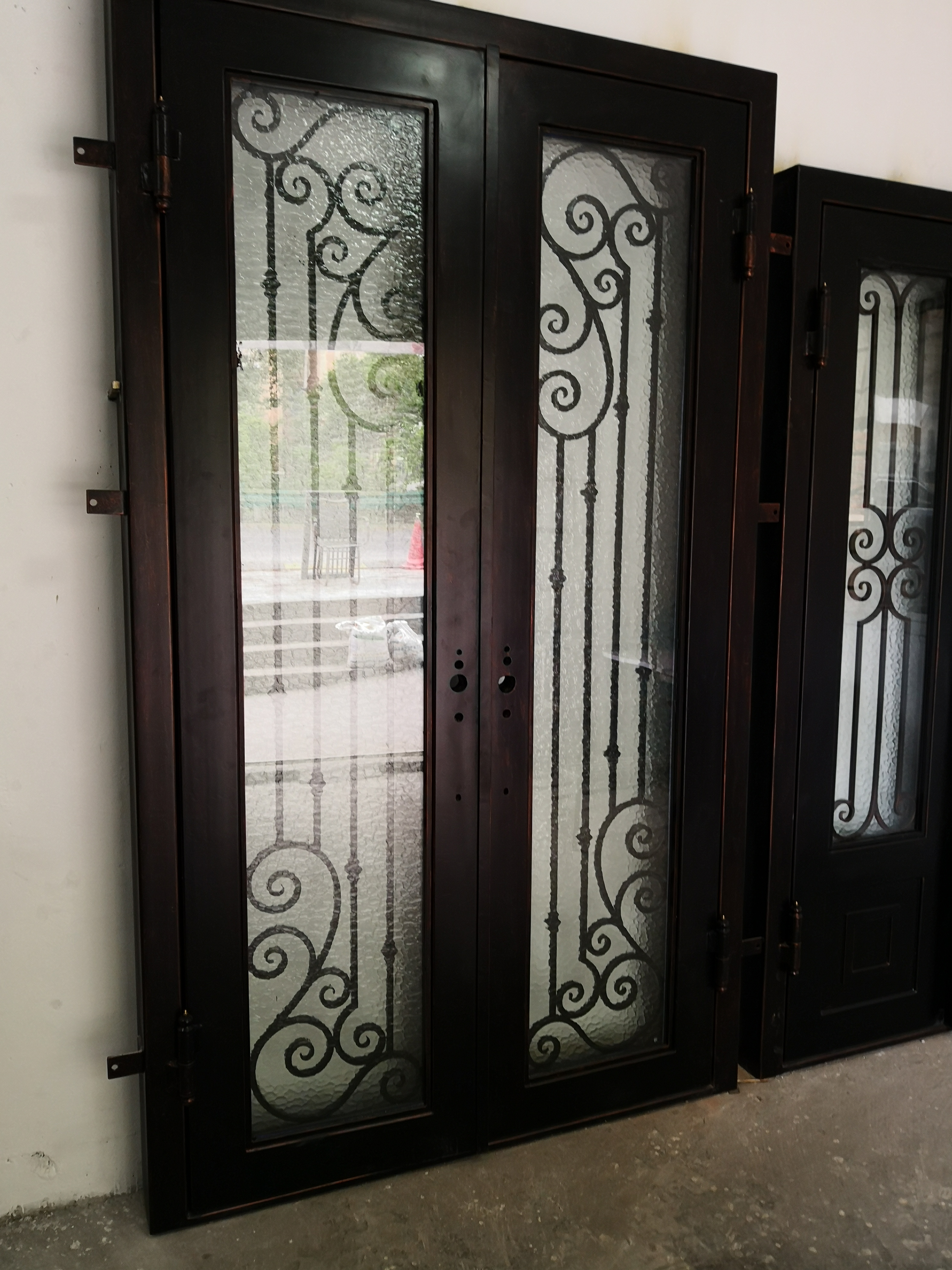 Hench 100% Steel Iron Doors  Model Hc-id110