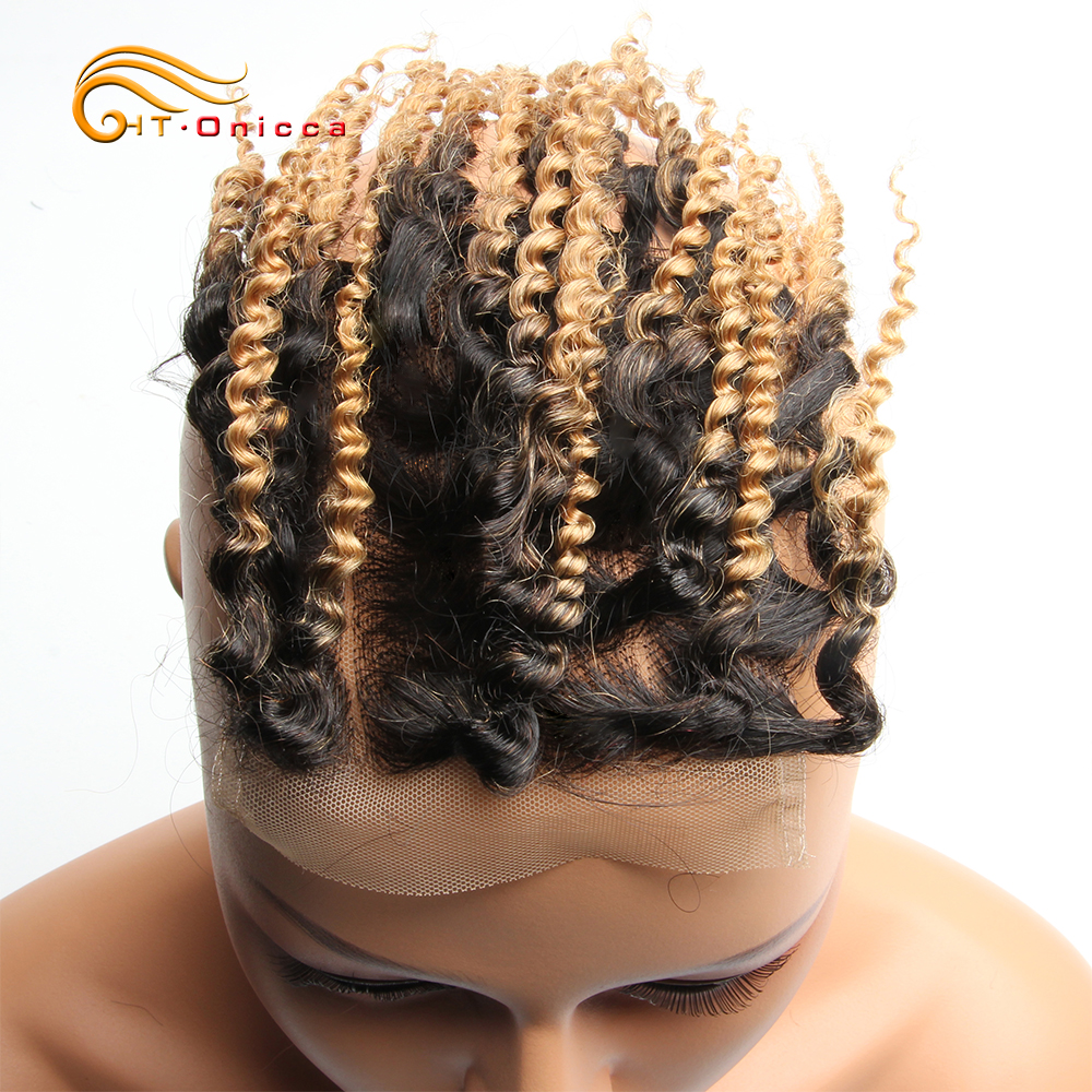 Curly Bundles With Closure Jerry Curl  Bundles and Closure 1B 27 30 99J Short Double Drawn  With Closure 3