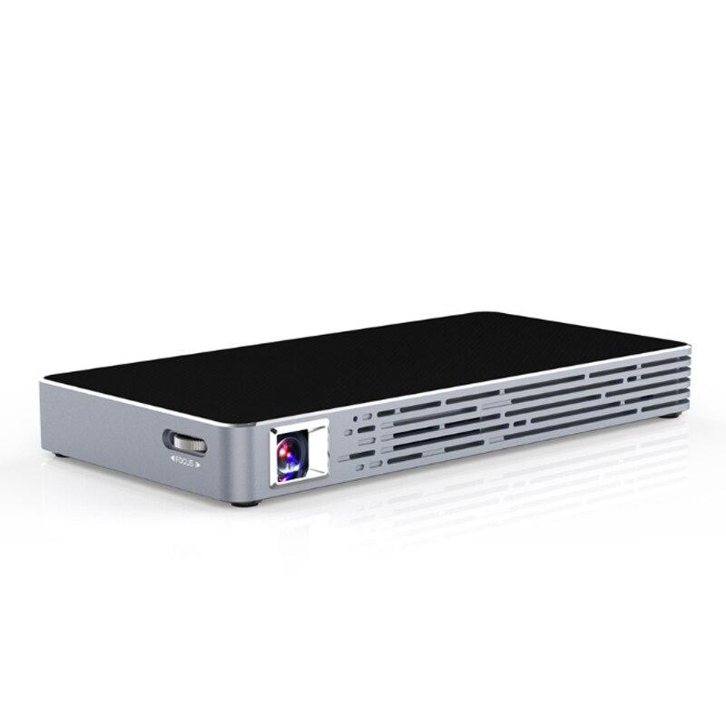 Mini projecteur Portable ménage intelligent DLP HD téléphone projecteur pour Home cinéma GK8899