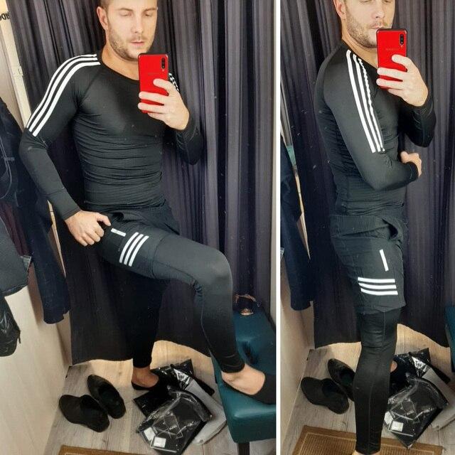 men's sports training suit  5