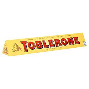 tobl erone Milk Chocolate Bar 100G (Confezione da 20X 100G)