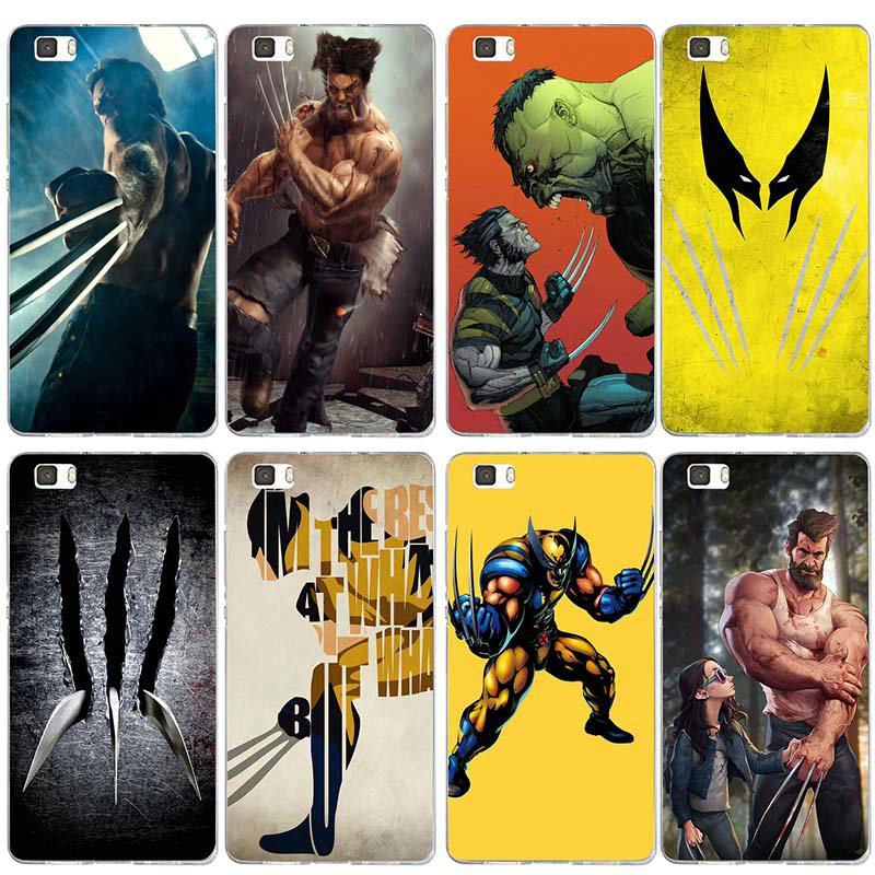 Soft TPU Silicone Cell Phone Cases for Huawei P8 P9 P10 P20 P30 Honor 6X 7X 7 9 Mate 10 Pro Lite Bags Wolverine Comics Xmen Hero image