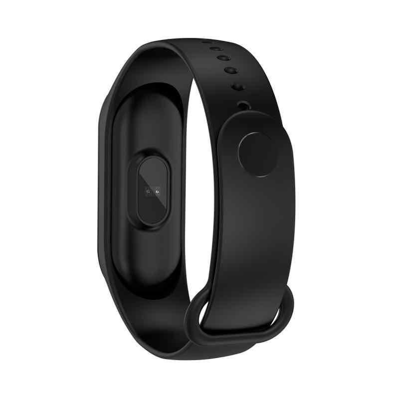Banda intelligente M4 Salute Wristband di Sport Astuto Della Vigilanza di Frequenza Cardiaca Monitor di Pressione Sanguigna di Inseguitore di Fitness Pedometro Impermeabile