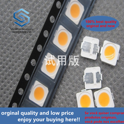 50pcs 100% Orginal New SPMWHT5206N2BAC2S0 5050-5060 2 Feet 5000K Color Temperature Low Heat LED Lamp Beads