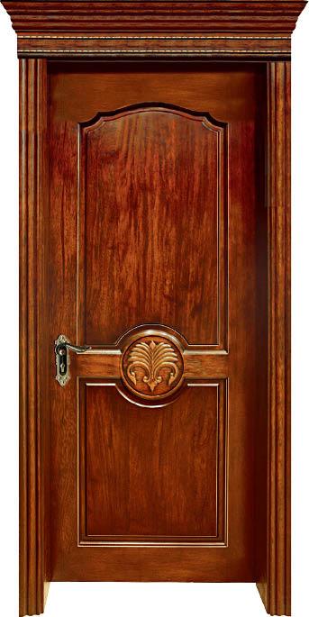 Luxury Carving Designs Thailand Oak Solid Wood Door Exterior Door Interior Wooden Doors C014