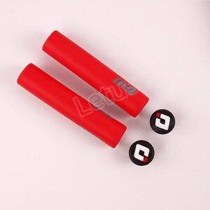 ODI MTB велосипед Ручка 2 шт. велосипед Силиконовые ручки Анти-занос, удар-поглощая мягкая горный велосипед сцепление велосипед аксессуары