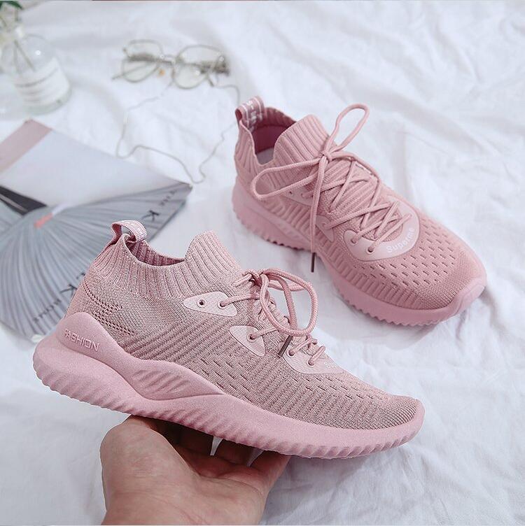Новинка; сезон весна; женские кроссовки на платформе; Повседневная дышащая обувь; коллекция 2020 года; tenis feminino; женская обувь из сетчатого