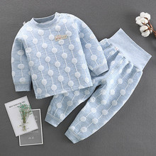 Children Pajamas Kids Long Sleeve Cartoon Sleepwear Baby Girl Clothes Sleep Suits Autumn Child Pyjamas Boy Nightwear