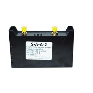 Image 5 - 2.8 بوصة مع قضية معدنية NanoVNA V2 3G ناقلات شبكة محلل S A A 2 على المدى القصير HF VHF UHF شبكة هوائي محلل