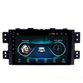 For kia borrego 2008 -2016 9 inch Android 8.1 2 Din Car Multimedia Stereo Player Navigation GPS WIFI Radio image