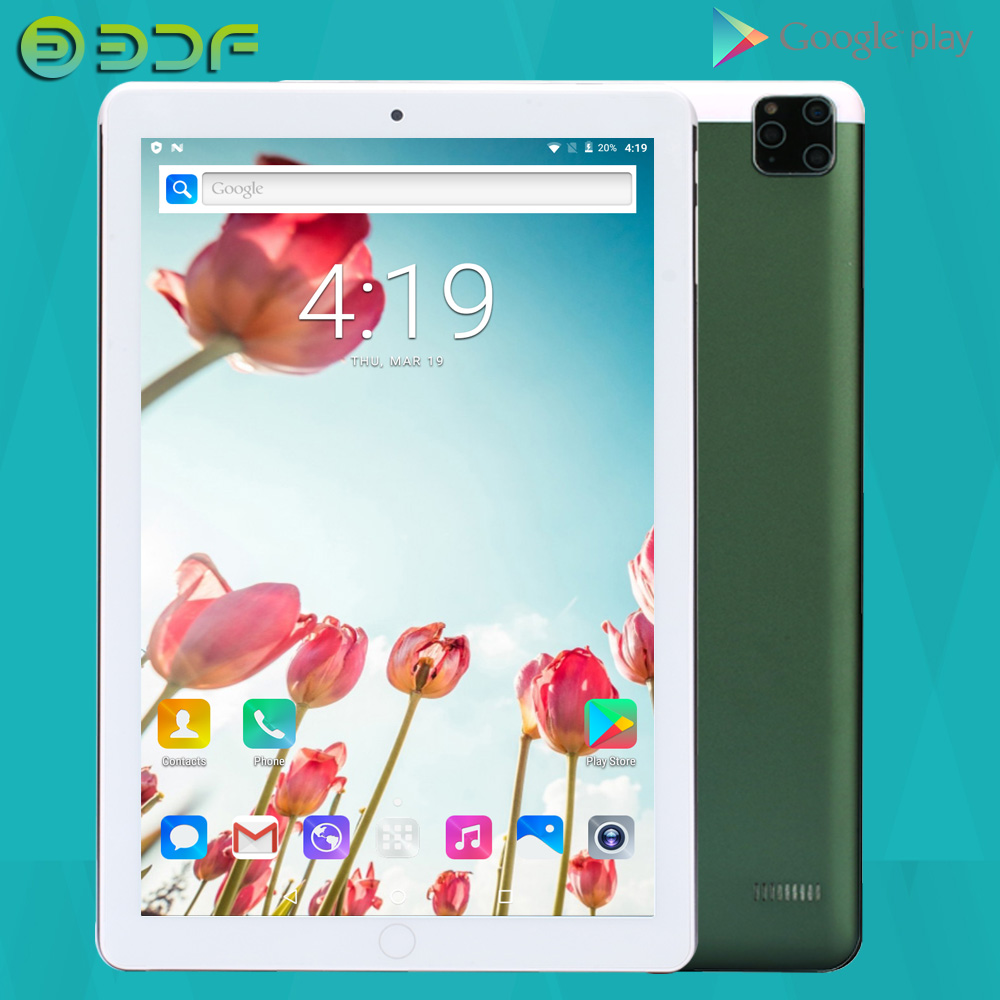 New Design Android 7.0 Tablet Dual SIM Card 10Inch 2GB+32GB Dual Camera 10.1 Inch Tablets PC GPS LCD FM 3G Phone Call