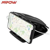 Mpow CA090 Car GPS Phone Holder Stable Desk Holder With Three Slots Multiple Angles For iPhone Xs 8 7 Plus Tablet Huawei Xiaomi|phone holder|desk holdergps phone holder -