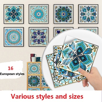 Explosive Splicing Small Floral Simulation Home Renovation Living Room Decoration Self-adhesive Waterproof Wall Stickers 1