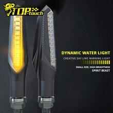 חית רוח עמיד למים אופנוע הפעל אורות שונה רכב הפעל אורות LED כיוון אורות דקורטיביים אורות #