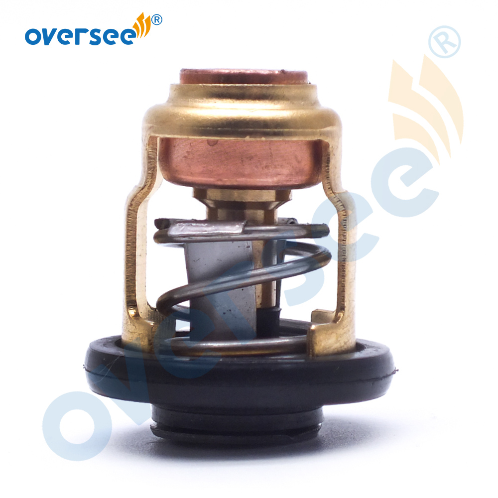 66M-12411 Thermostat 60 Degrees 140F For Yamaha Mercury Honda Suzuki  4 Stroke Outboard Engine  6F5-12411-03-00