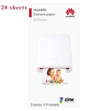 Для HUAWEI фотобумага AR Карманный принтер без чернил Мини Bluetooth 4,1 Беспроводной 300 точек/дюйм принтер ручная учетная запись DIY фотографии