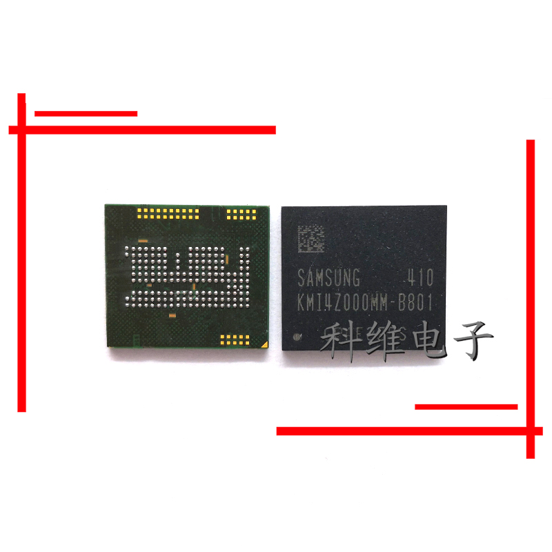 1pcs/lot KMI4Z000MM B801 emcp 162 ball 32 + 2 32G hard disk memory cell phone IC|Cable Winder| |  - title=