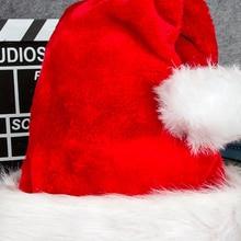 Оригинальные Рождественские Праздничные рождественские детские и взрослые рождественские шляпы
