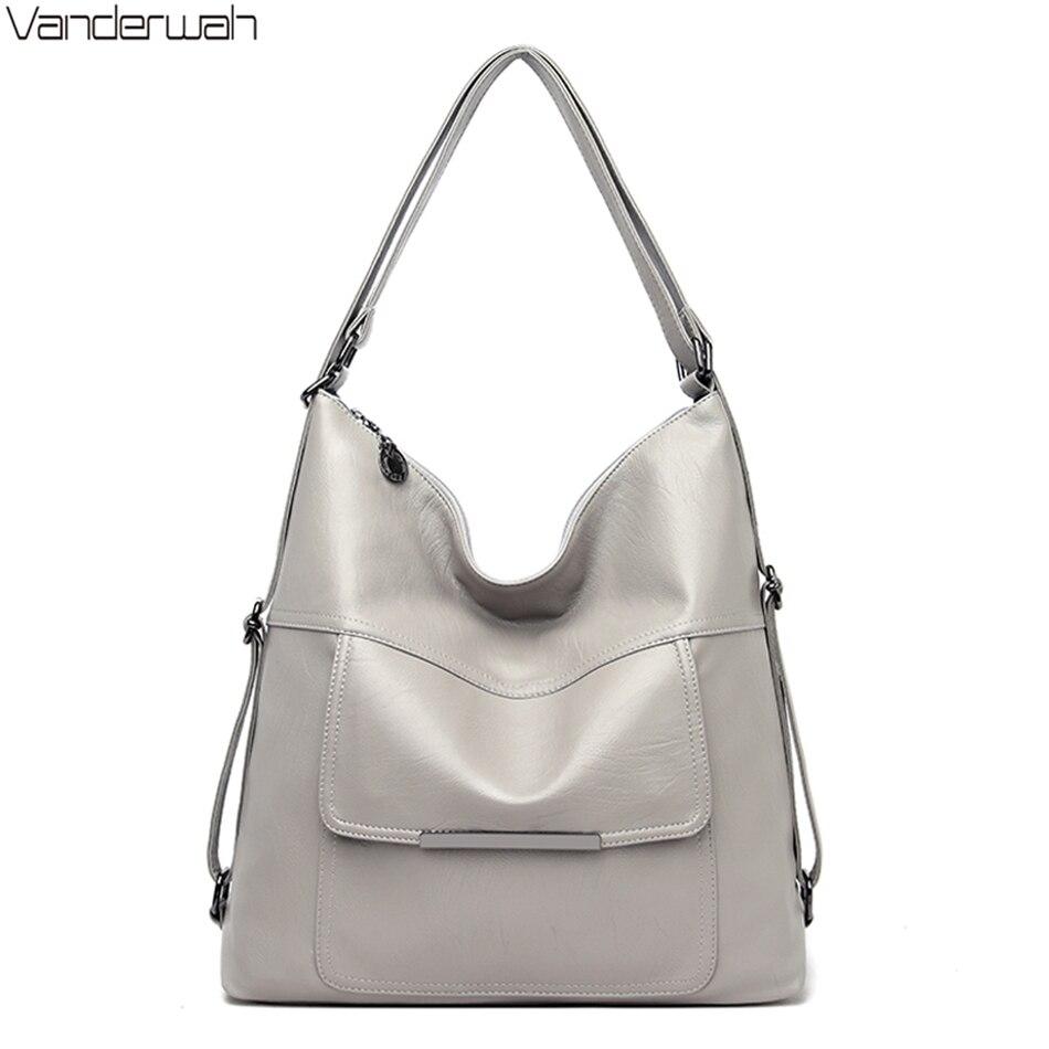 Multifunctional Fashion Ladies Shoulder Bag High Quality Luxury Handbags Famous Brand Women Bags Designer Bolsa Feminina 2019