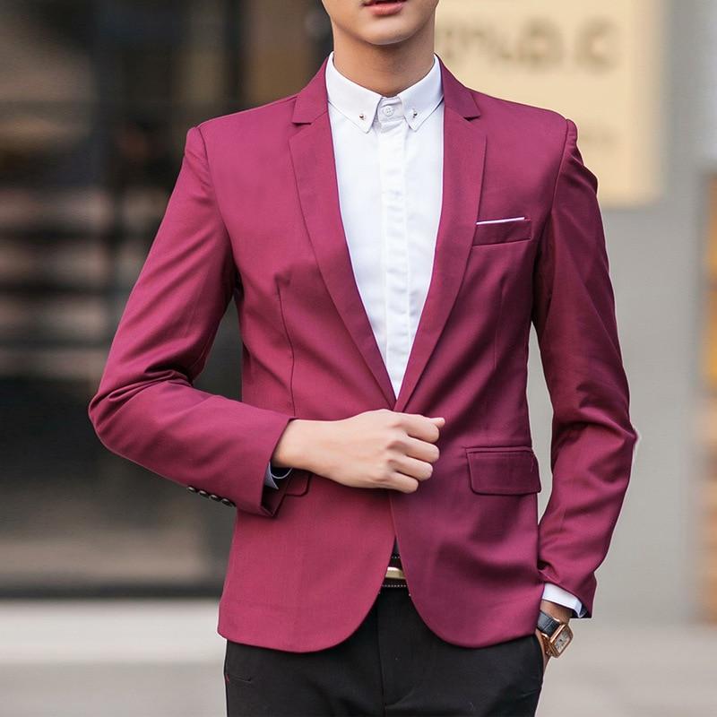 AliExpress EBay Set MEN'S Top Slim Fit Korean-style Business Casual Business Suit