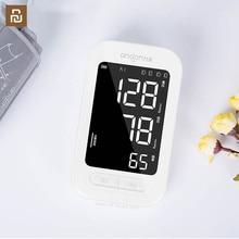 Андон Автоматический цифровой монитор артериального давления, монитор сердечного ритма портативный тонометр сфигмоманометр