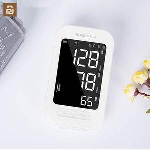 Image 1 - Andon Automatic Digital Blood Pressure Monitor Heart Rate Monitor Counter Portable Pulsometer Tonometer Sphygmomanometer