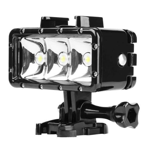 30M Underwater Waterproof LED Lamp Diving Light for DJI Osmo Action GoPro Hero 7 6 5 Black Xiaomi Yi Sjcam Eken Flash Lighting Karachi